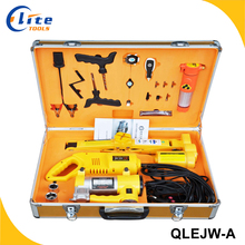 Auto Repair Tool with 12V Electric Jack and Wrench Tools Set for Car