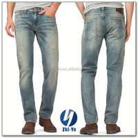 factory price top brand wholesale destroyed jeans