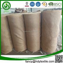 High quality wholesale jute burlap roll bonded jute hessian cloth tobacco