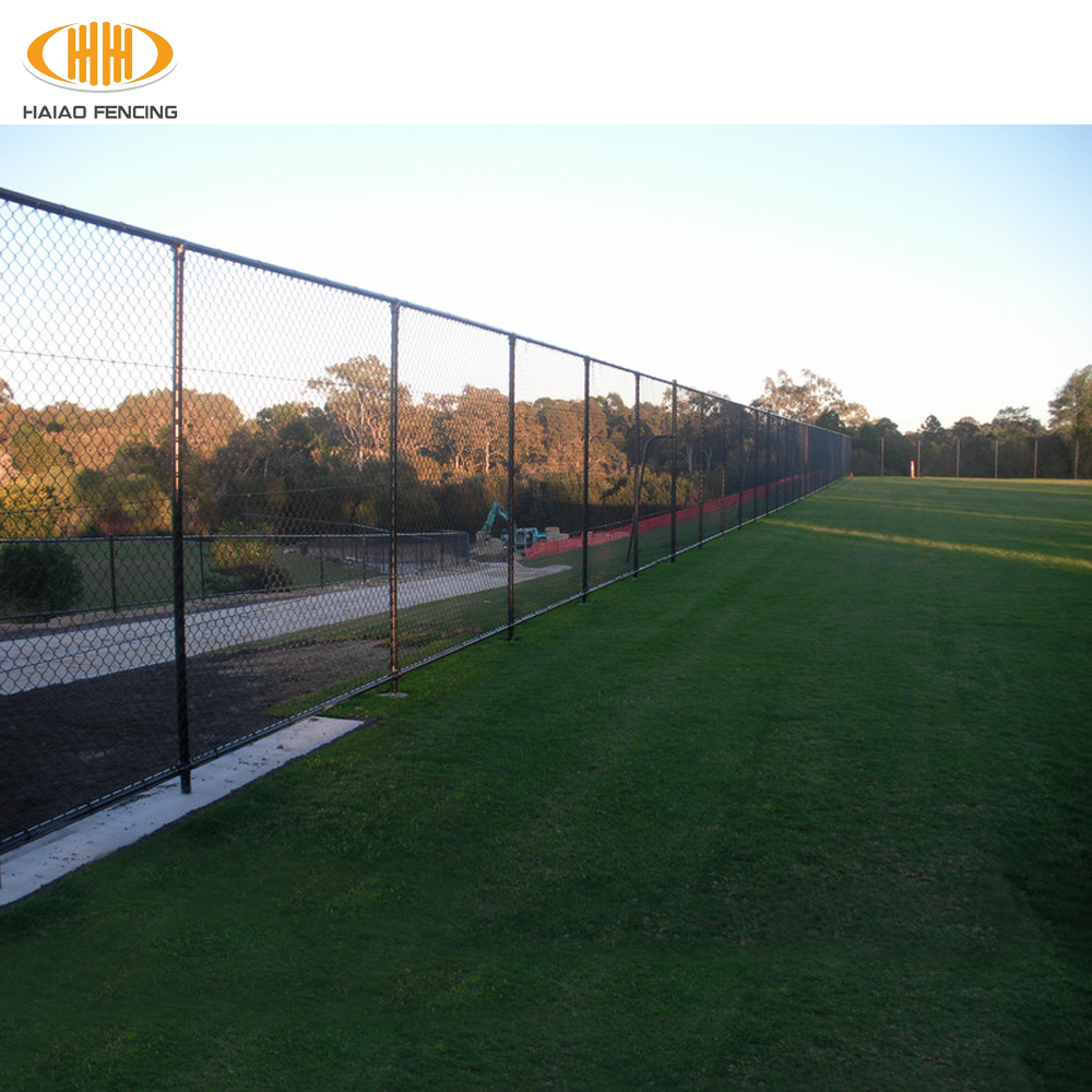 haotong chain link fence,heat treated chain link fence,heavy duty cheap vinyl coated chain link fence