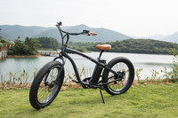 2016 newest 4.0 inch fat tire electric bike with rear hub motor