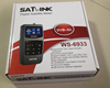 DVB-S & DVB-S2 satlink 6933 Satellite Finder FAT channel ws 6933