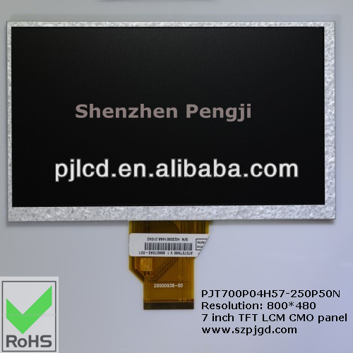 for industiral CMO original 7 inch TFT LCD panel 800*480 AT070TN90 module