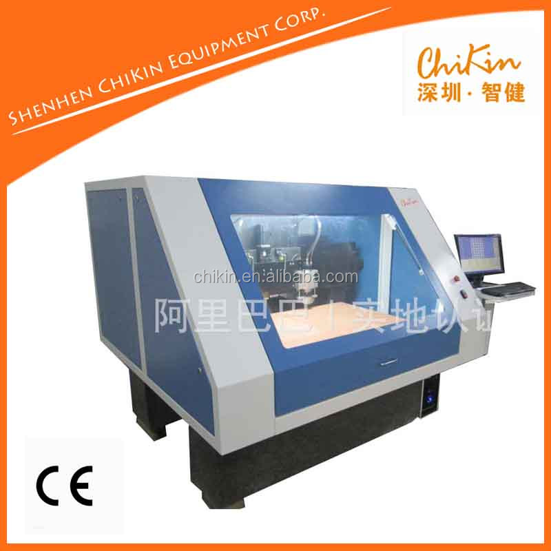 Smart cnc low cost router vertical milling machine