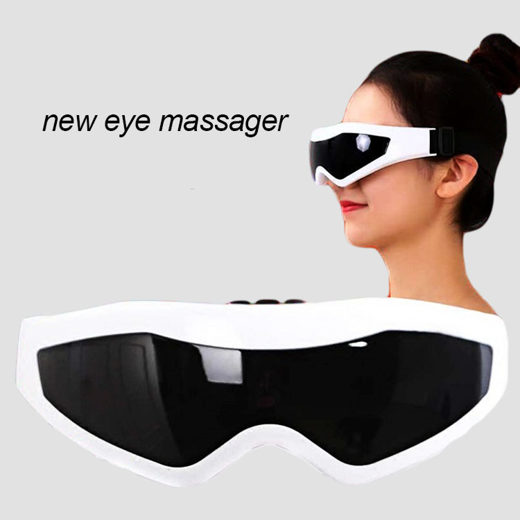 Eye Electric Massager Health Care Alleviate Fatigue Head Stress Relax Massager