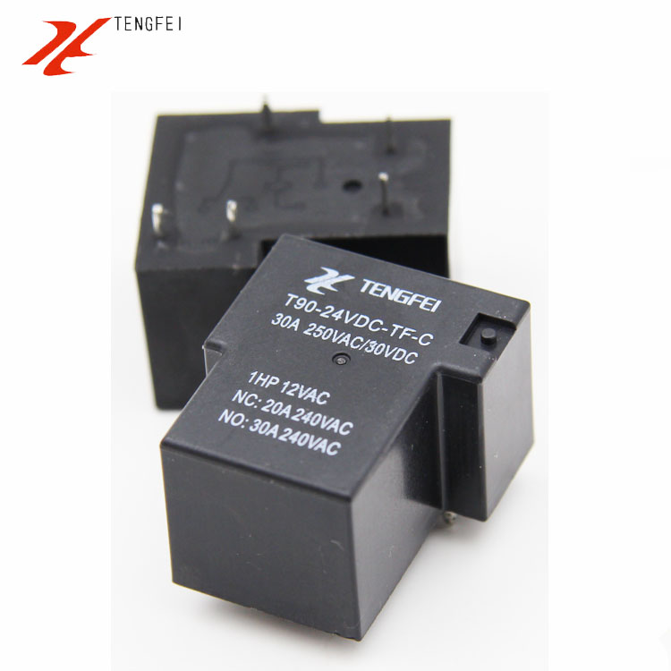 Smart Bes~SLA-12VDC-SL-A T90 SONGLE RELAY 9v / 12 v / 24v / 4 feet / 5 feet of a set of normally open