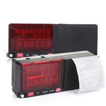 Online trade Smart LED screen digital Taxi Meter with Printer free shipping