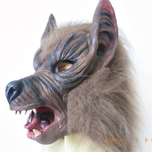 Good quality halloween mask latex wolf mask