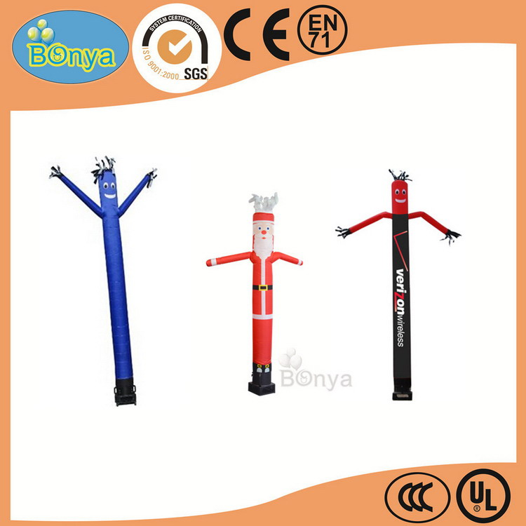New style trade assurance mini inflatable man air dancer blower
