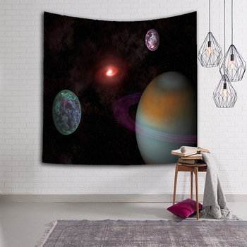 Sky Pattern Wall Hanging Tapestry for Bedroom