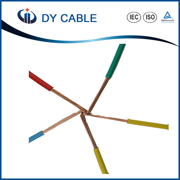 Hot SalesAnnealed Copper 4Mm2 4 Core 4Mm Pvc Cable Electric Cable