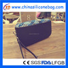 2015 New design wholesale coin wallet silicone cosmetic bag