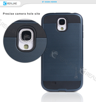 Good protective shockproof tpu pc mobile phone wholesale price for samsung galaxy s4 case