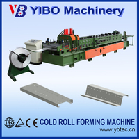 Yibo New Design Exchanged Metal Used C Z M Purlin Roll Making Equipment