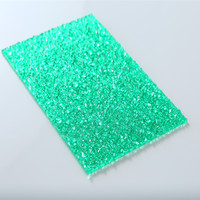 decoration materials clear lychee pattern polycarbonate embossed sheet plastic sheet