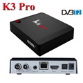 OEM highly supported S912 dvb s2 dvb t2 hybrid tv box android 6.0 tv box k3 pro dvb t2 tv box
