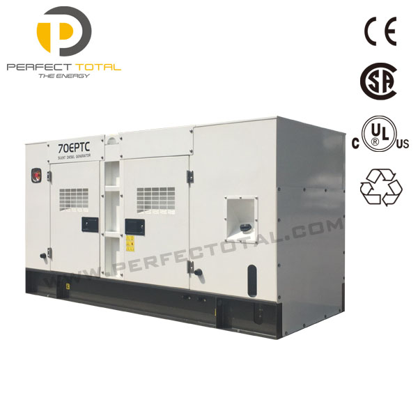 Electric power plant silent diesel 300kw generator by cummins engine