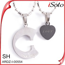 La venta de colgantes fashion jewelry wholesale pair pendants for lovers