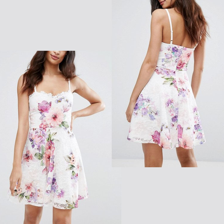 sexy pictures of girls without lace dress skater floral print dresses