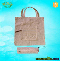 eco friendly cotton shopping foldable bag