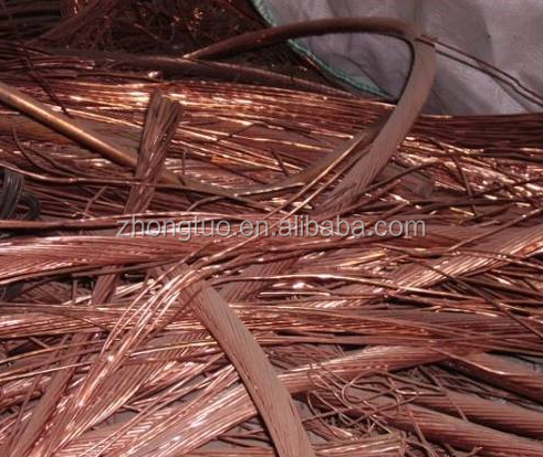 Supply Shining Copper Wire Scarps in Low Price