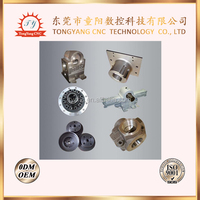 OEM custom high precision cnc machining part metal/brass watch gears