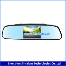 "4.3"" tft lcd car foldable rearview monitor/ car monitor with AV input"