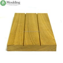 Luxury Profiled Teak Wood Moulding for Furniture Decoration