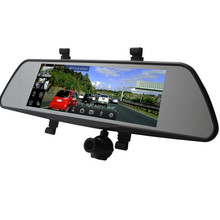 2018 Latest 4G Smart Car mirror dvr with GPS navigation and support Wifi Android system 3 cameras