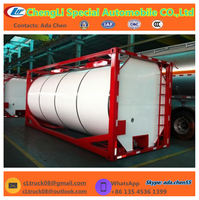 chemical ISO storage tank container for sodium hydroxide solution 50%