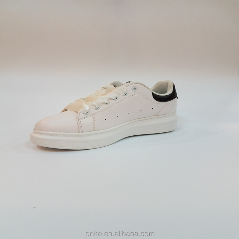 Good quality white women sneakers factory product good quality sport shoes for woman