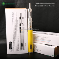 Import Business Ideas Starter Kit E Cigarette EGO II Twist Mega kit herbal vaporizer