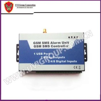 8 wireless sensor GSM remote control switch/circuit changer