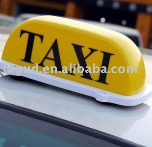 taxi light, taxi lamp, taxi top light