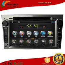 Wecaro best price android 4.4 car dvd player opel vectra dvd/ced/mp3/mp4/bluetooth/ipod/radio/tv/gps/3g