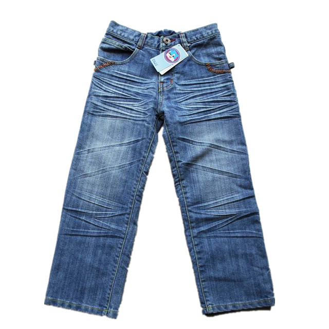 Good Price pants Kids Unisex Boys Girls Stock Lot Pants Jeans Brand Name 3/4 Pants