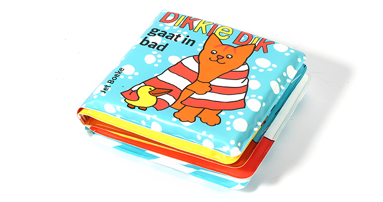 Custom Size Printed Educational Waterproof Safety Children Baby Plastic Bath Book
