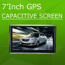 "2015 Wholesale 7"" Portable Car GPS Capacity screen Car GPS Navigator with bluetooth AV-IN, OEM/ODM manufacturer Portable Car GPS"