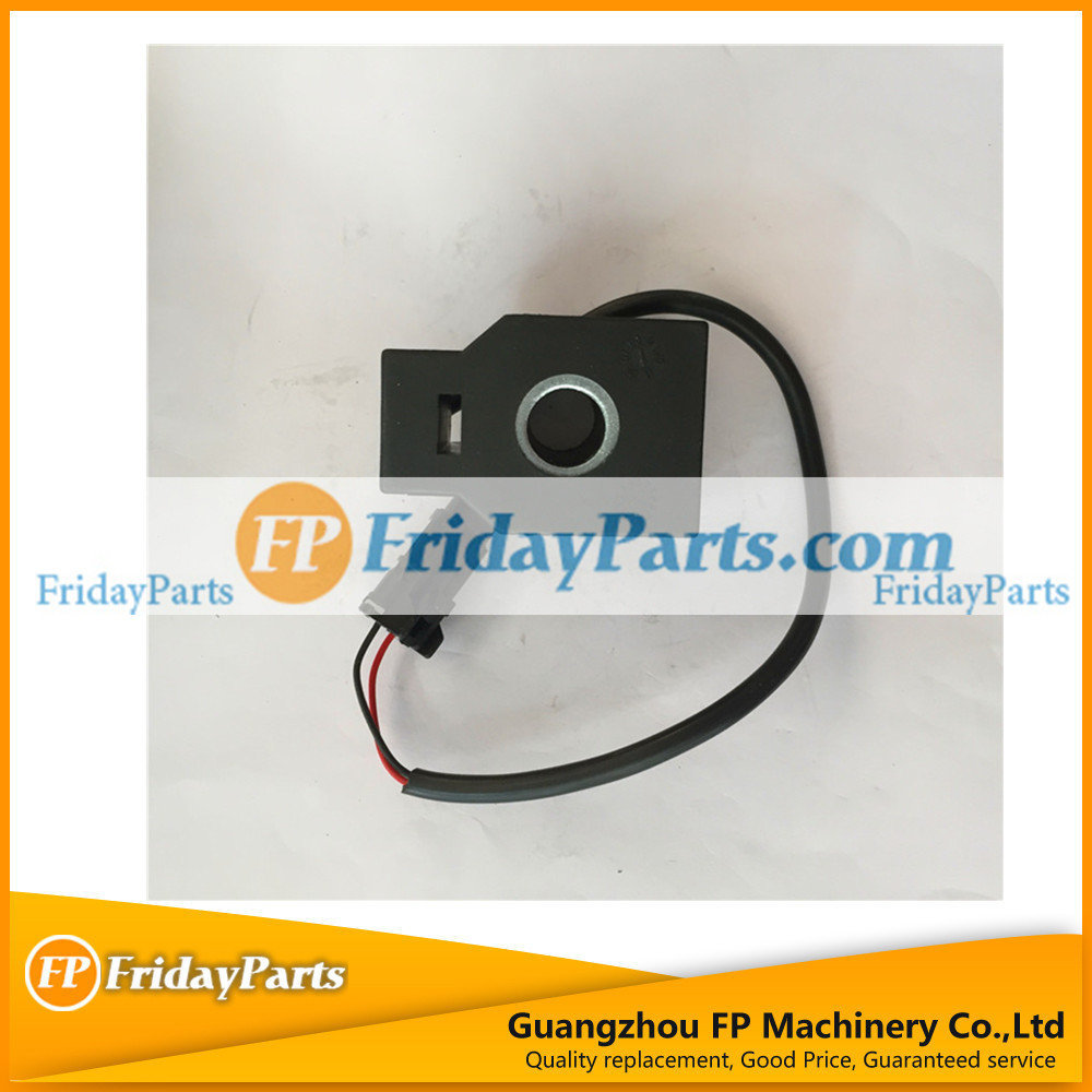 FP Parts Diesel Solenoid Valve Coil R210-5 for Excavator assy parts