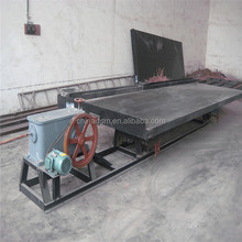China Gold Supplier Great Capacity and Inexpensive mineral concentrated separating shaking table hot in Asia