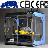 Automatic Grade and Single Color Color & Page 3d printer