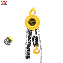 2018 Portable Mini Manual Chain Pulley Block Mechanism
