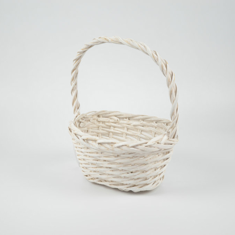 small empty miniature wicker gift baskets