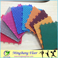 different patterns of portable pp outdoor sports floor