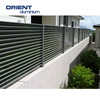 China Supplier Horizontal Aluminium Slat Fence