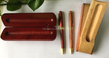 Hot selling calligraphy wooden pen set fountain ball pen with wooden boxes calligraphy pen set