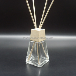 60ml tower aroma diffuser bottle with wooden top and reed stick