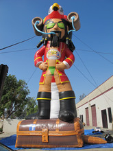 Different design party decor or advertising large inflatable pirate,inflatable captain