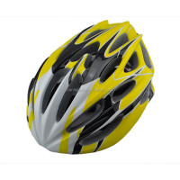 Hot sale led flashing light up safety led bike helmet