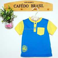 100% organic cotton baby T shirt ,cotton breathble babyclothes wholesale